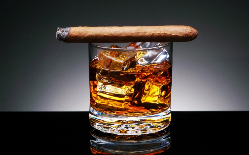 Whiskey-Cigars
