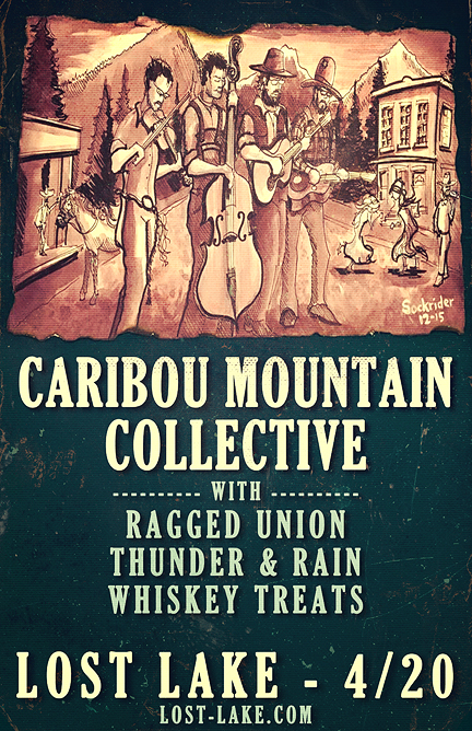with Caribou Mountain Collective